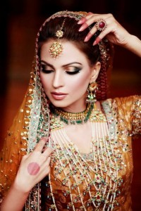 Gorgeous Eastern Bridal Eye Make-up