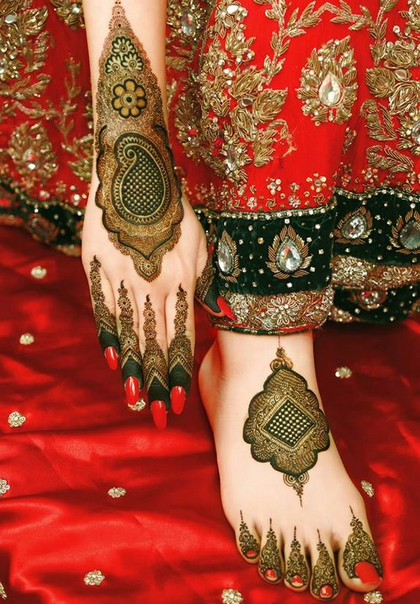 Latest Wedding Mehndi Designs 2019 For Hands In Pakistan