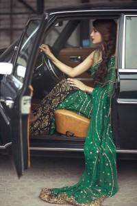Ideal Green Bridal Dress