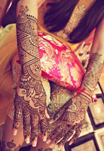 Indian Full Hand Design