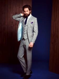 Light Grey Suit for MEn