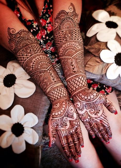 Latest Wedding Mehndi Designs 2018 For Hands In Pakistan Styleglow Com