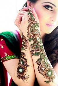 Mehendi Design for Ceremony