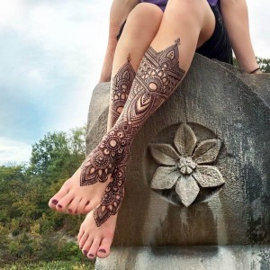 Mehenid Design Tattoo for Eid