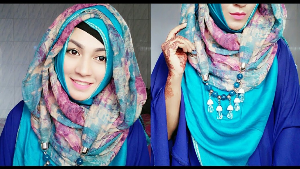 Nowadays hijab is modified in many diverse ways that it is known for hijab  in fashion. It is now not only considered a simple ritual but also a  stylish