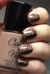 Digital Brown Zebra Style