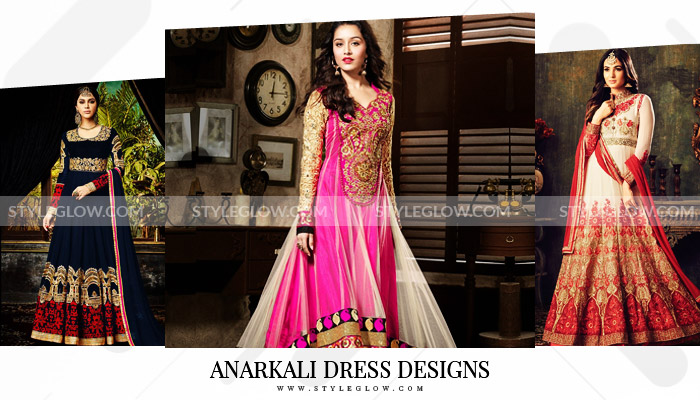 Pakistani Anarkali Dress Designs 2018