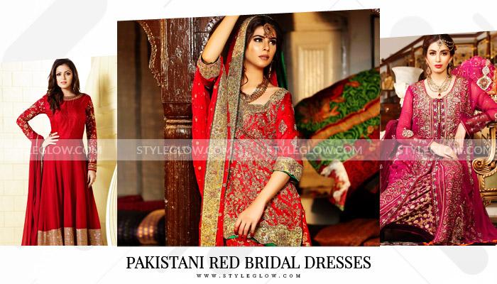 Pakistani Red Bridal Dresses 2020