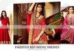 Pakistani Red Bridal Dresses 2018