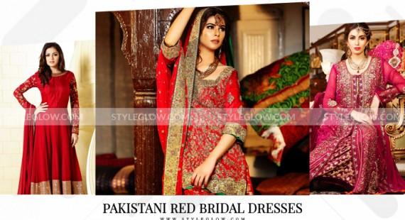 Pakistani Red Bridal Dresses 2018