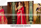 Pakistani Saree Designs