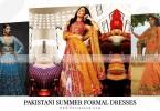 Pakistani Summer Formal Dresses 2018