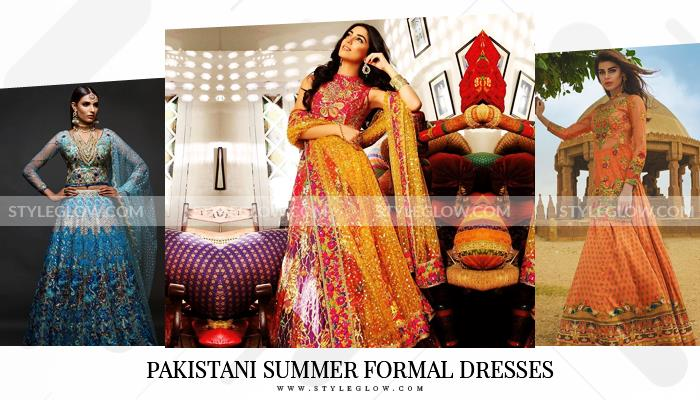 Pakistani Summer Formal Dresses 2019