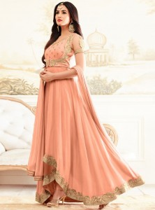 Peach Color Anarkali Dress