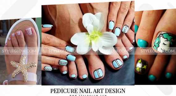Pedicure Nail Art Design 2018