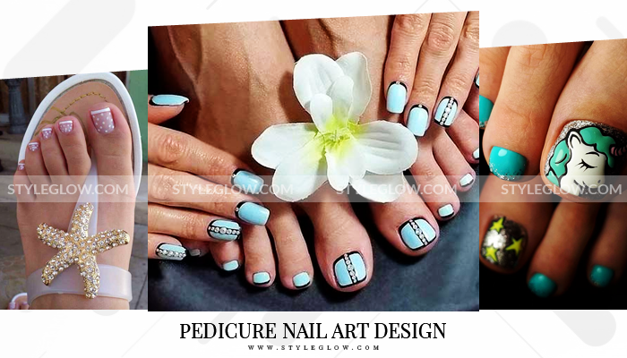 Pedicure Nail Art Design 2019