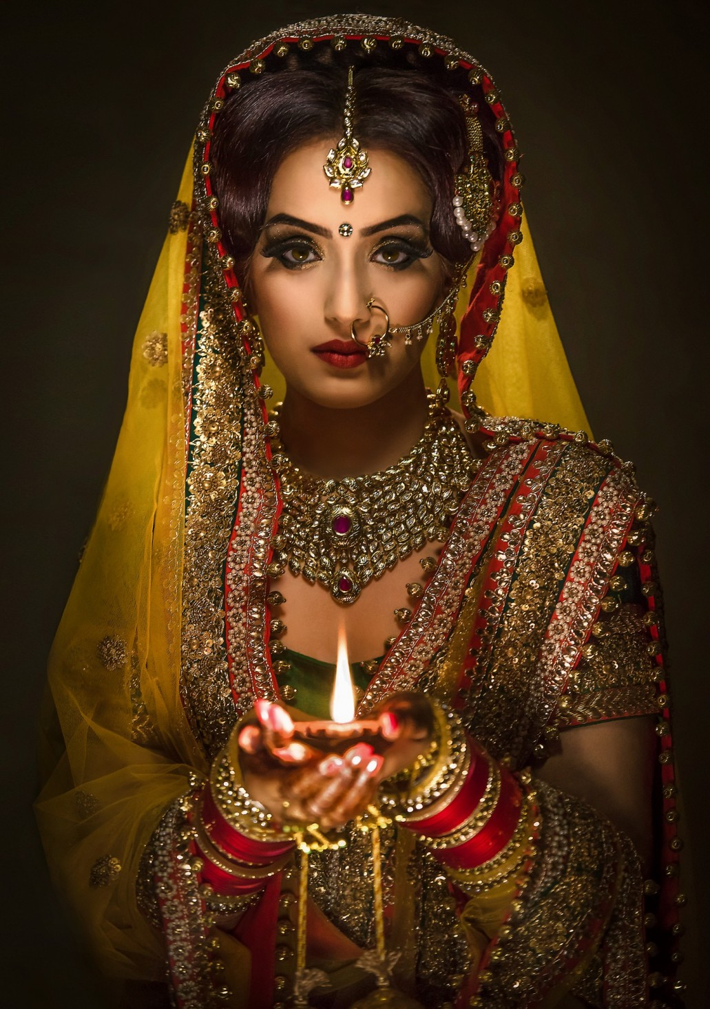 Best asian bridal makeup