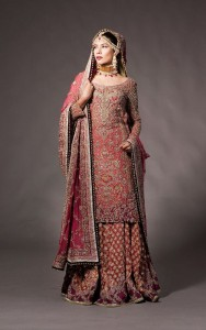 Pink Embroidered Mandyr Collection