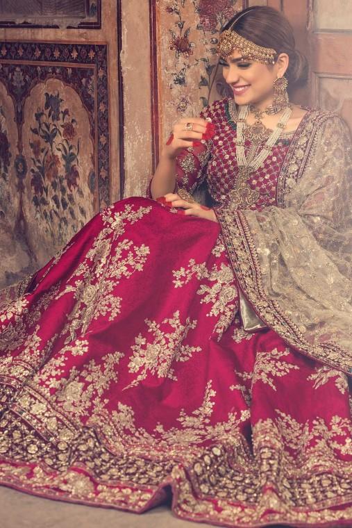 Beautiful Bridal Nikah Dresses 2020 For Wedding Bride