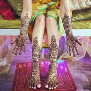 Royal Full Mehendi Design