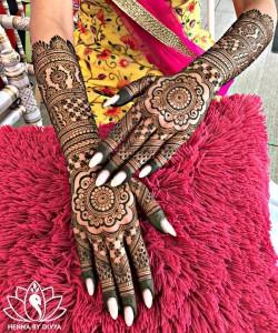 Royal Indian Mehendi Style