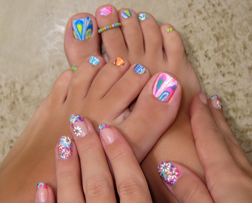pedicure nail art ideas 2020 to try this summer simple