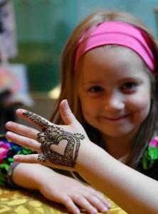 Simple Arabic Henna Mehendi