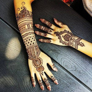Top Mehendi Full hand Design