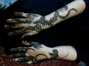 Arabic Latest Mehendi Collection