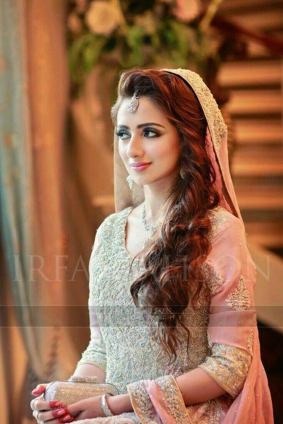 Best Pakistani Bridal Hairstyles 2018 For Wedding 2020