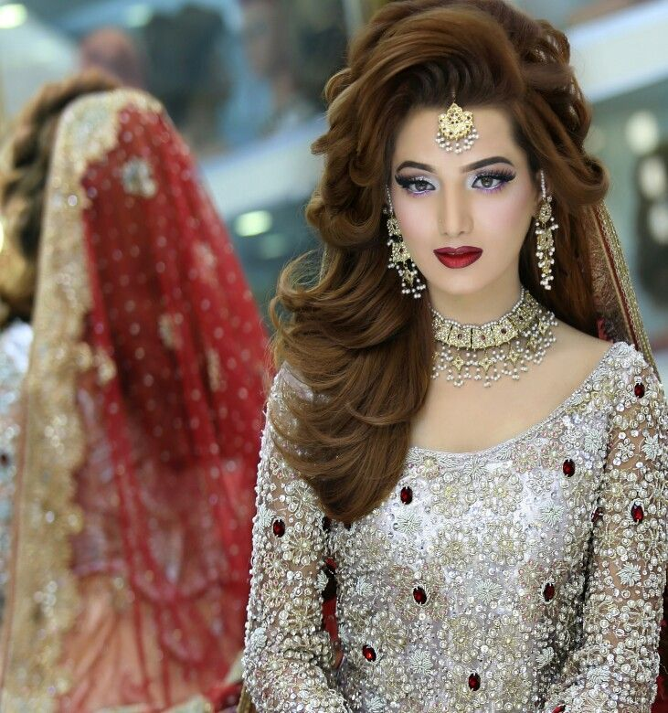Best Pakistani Bridal Hairstyles 2018 For Wedding Styleglow Com