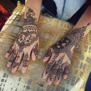 cool Mehndi Design for Hands Picture