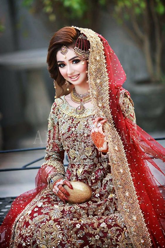 3a4fc5adf52 Pakistani Red Bridal Dresses 2019 for Wedding Day - StyleGlow.com