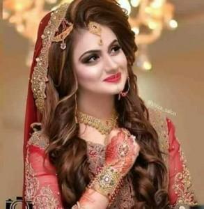 smiling bride at barat