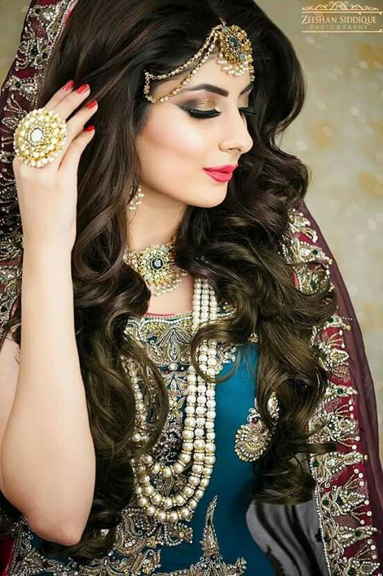 Best Pakistani Bridal Hairstyles 2018 For Wedding Styleglow