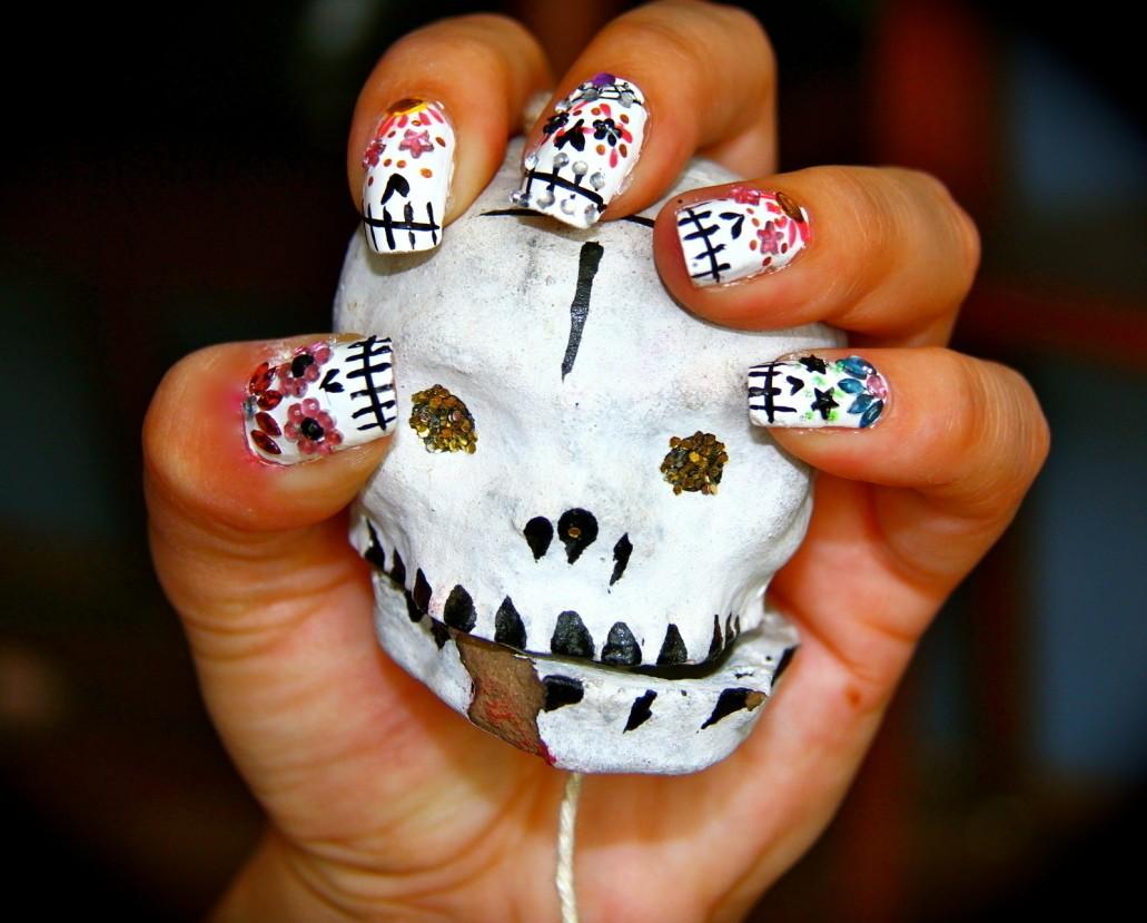 6 Best Easy Charming Diy Halloween Nail Art Design Tutorials