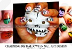 Charming-DIY-Halloween-Nail-Art-Design