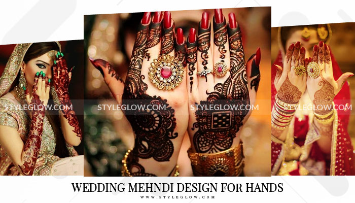 Wedding Mehndi Design for Hands