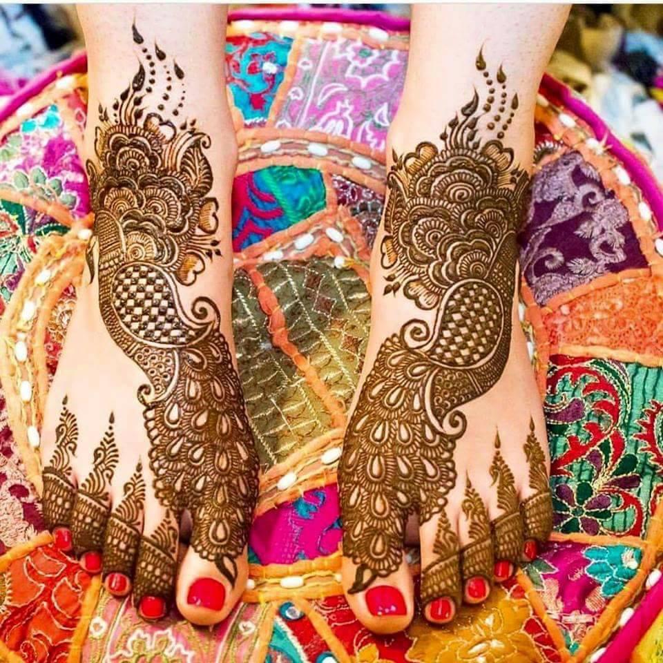 Latest Eid Mehndi Design Collection 2018 For Girls Styleglow Com