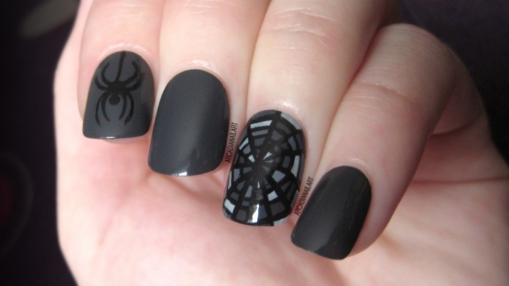 6 Best Easy Charming Diy Halloween Nail Art Design Tutorials
