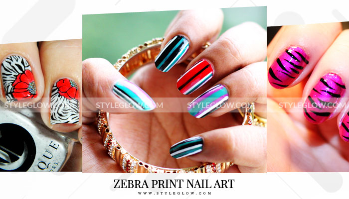 Zebra Print Nails Step By Step Tutorial 2019 How To Do Nail Art