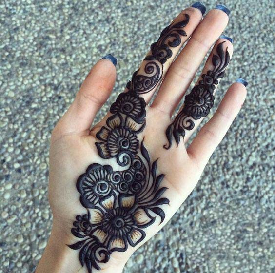 New Eid Mehndi Designs 2021 Beautiful Simple And Easy Styleglow Com