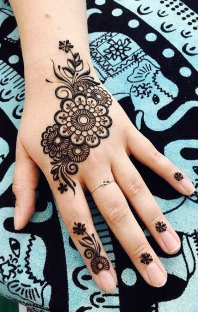 New Eid Mehndi Designs 2020 Beautiful Simple And Easy Styleglow Com