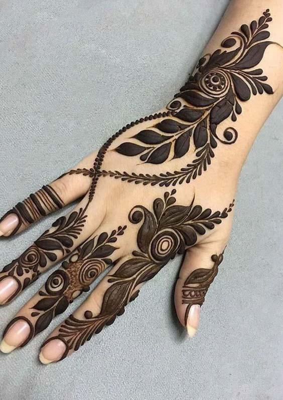 New Eid Mehndi Designs 2020 Beautiful Simple And Easy Styleglow Com
